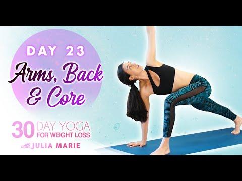 cardio yoga burn 🔥 toned abs  arms fat burning workout