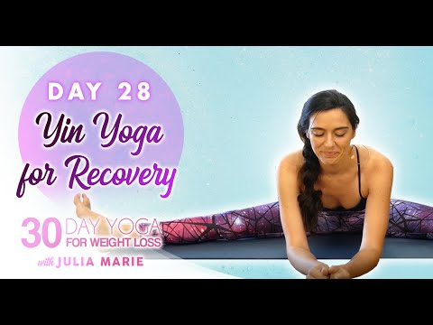 restorative yin yoga ♥ deep stretches for recovery hips