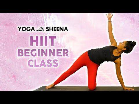 cardio yoga hiit workout for weight loss  fat burning 40