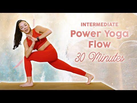 power yoga hiit ♥ cardio burn workout day 6  30 day yoga